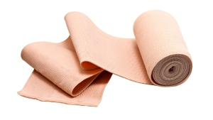 A Tensor bandage is seen in a stock image from Shutterstock.