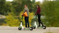 E-scooters will be back in Calgary this spring, the city announced Tuesday. Kevin Fleming reports