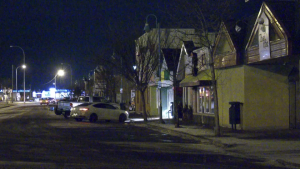 Strong winds caused power outages across the Edmonton Area. Tuesday Jan. 19, 2021 (Sean Amato/CTV News Edmonton)