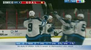 Jets edge Ottawa Senators  in overtime