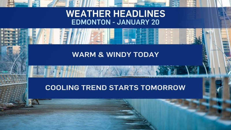 Jan. 20 weather headlines