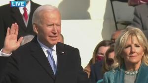 Joe Biden sworn in as U.S. president