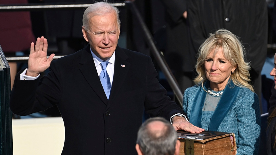 Joe Biden swore in as new U.S. president