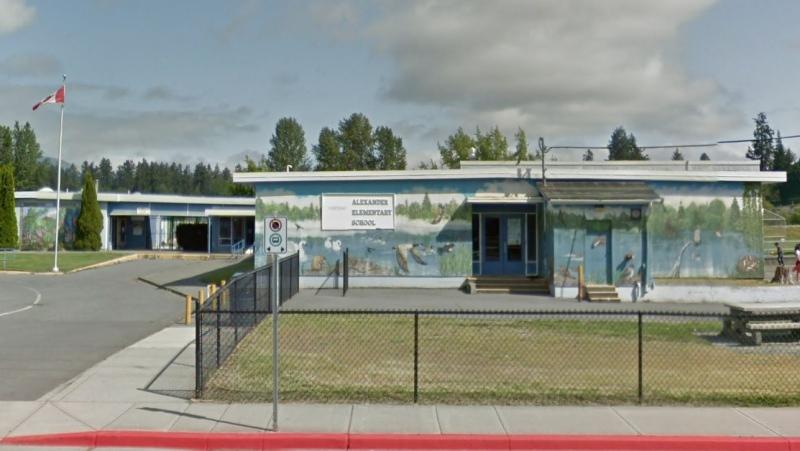 Alexander Elementary School in Duncan is shown: (Google Maps)