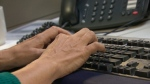 Hands on a keyboard (file)