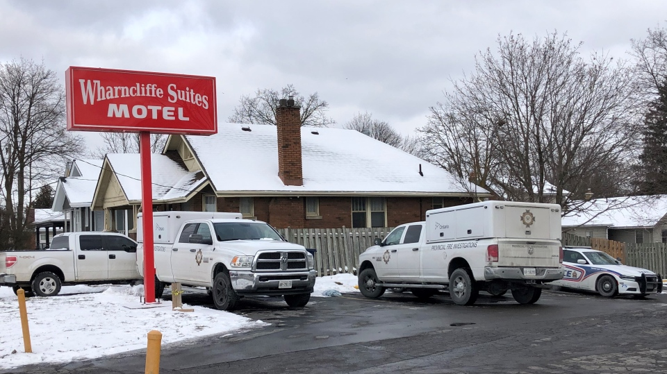 Motel fire investigation
