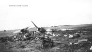 A military plane crashed near Estevan on Sept. 15, 1946 near Estevan. (Source: Marie Calder)