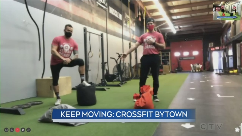 Keep Moving: Crossfit Bytown