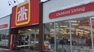 Home Hardware stores in Parry Sound and Gravenhurst, Ont., remain open to in-store shopping on Jan. 20, 2021 (Steve Mansbridge/CTV News)