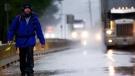 Dwayne Buckle walking to Port Hardy, B.C. (Source: Dwayne Buckle)