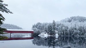 Wakefield Bridge over the Gatineau River in Wakefield, Quebec. (Karen Arp/CTV Viewer)