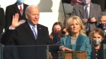 President Biden makes a pledge for unity