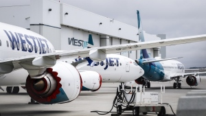WestJet became the first Canadian airline to operate a commercial flight using the 737 Max since the planes were grounded in 2019 following two deadly crashes. (File photo)