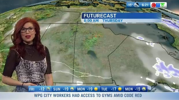 CTV Morning Live Weather Update for January 21