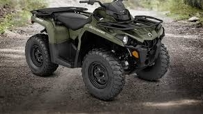 A 2015 Grn Bombardier Can Am ATV. (Courtesy OPP)