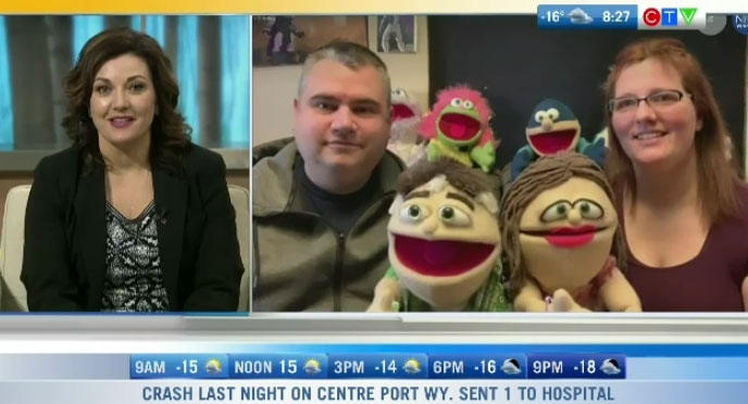 Husband and wife's puppets become pandemic hit