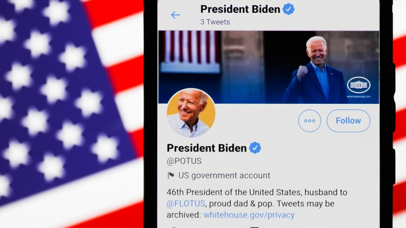 Twitter transfers POTUS account to Joe Biden, but