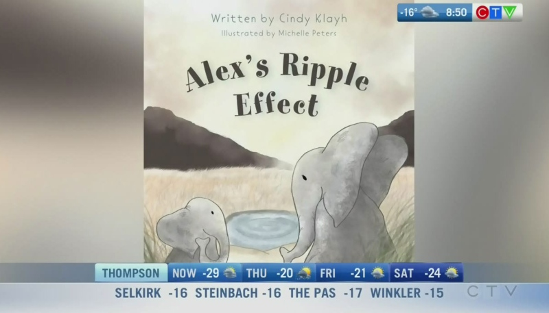 Winnipegger pens children's book on kindness