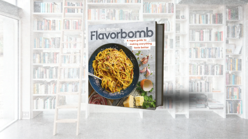 "Gastronaut, Author, Artist and eight-time Guinness World record holder Bob Blumer joins us to talk about his new cookbook ""Flavourbomb"""