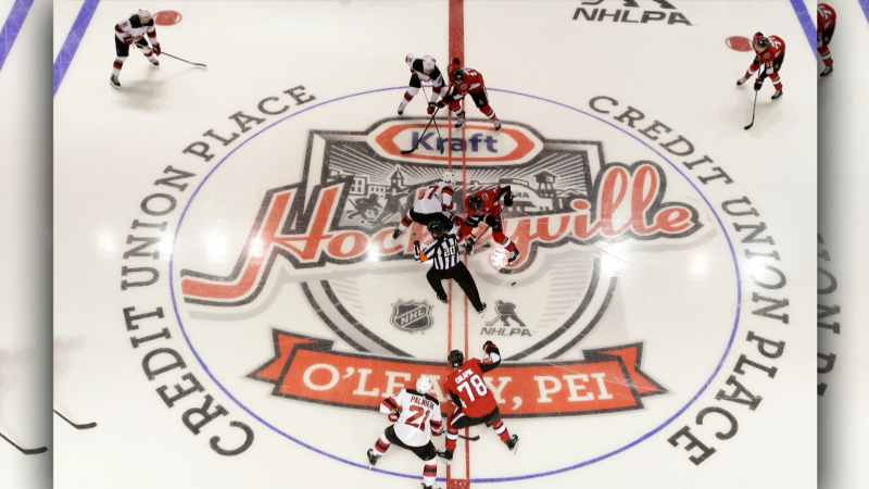 We'll have details on this year's nominations  for Kraft Hockeyville