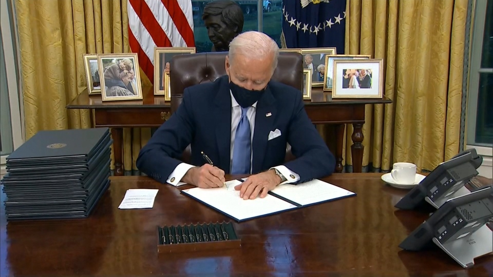 Biden orders review of domestic extremism threat in U.S.