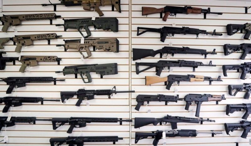 The federal government banned a variety of assault-style rifles in May 2020. (File)