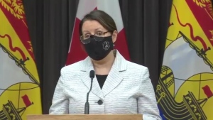 """This pandemic has taught us that our circumstances can change with frightening speed,"" said Dr. Jennifer Russell, New Brunswick's chief medical officer of health. ""We must be prepared to head this off before our situation becomes critical."""