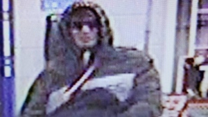 Mounties searched for the suspect that evening but were unable to locate him. Police are now asking for the public's assistance in identifying the man. (RCMP)