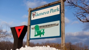 Geneva Park in Orillia, Ont. (CTV News Barrie)
