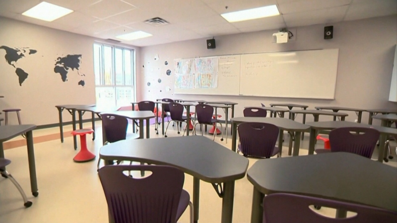 Every New Brunswick school district reported a notable drop in attendance Wednesday. The largest decrease was recorded in both the Anglophone East and Anglophone South school districts, where attendance fell 23 per cent.