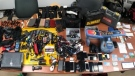 OPP seize $70,000 worth of stolen items on Jan. 8, 2021 following an alleged crime spree by two suspects. (Supplied)