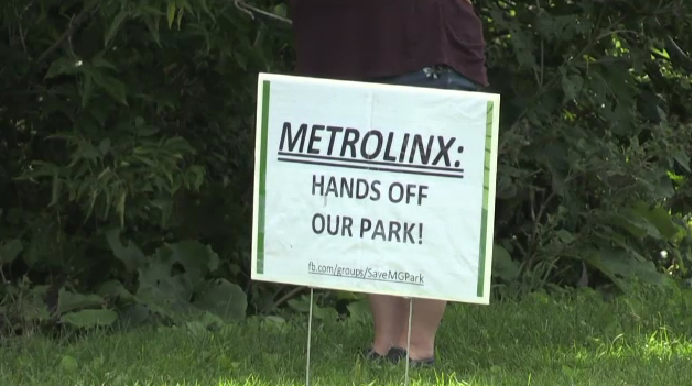 Metrolinx won't move into Guelph park
