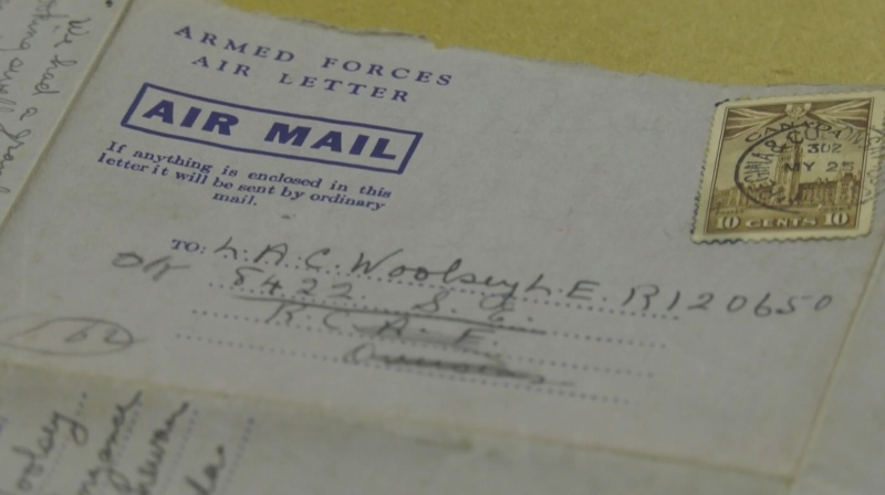 WWII letter returned to Sask. family