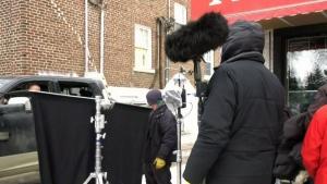 New film shooting in Regina