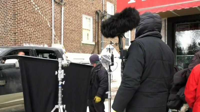 New film shooting in Regina