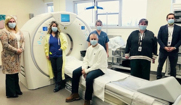 The St. Joseph's Foundation of Elliot Lake began using its new CT scanner earlier this month. While a majority of the money came through private fundraisers, a last-minute donation from Suzanne Rogers pushed them over the top. (Supplied)