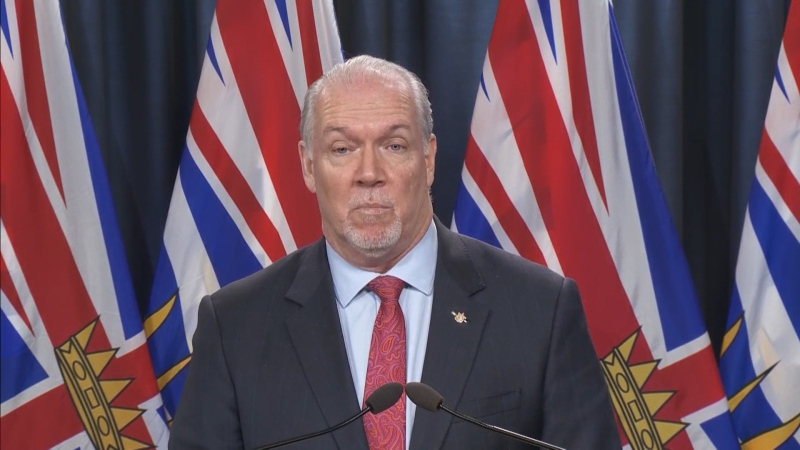 Horgan rejects interprovincial travel ban