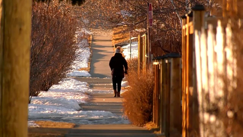 A number of women have been groped while out walking in Calgary neighbourhoods, and police are looking for a suspect