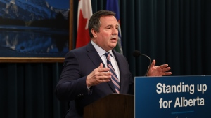Premier Jason Kenney called Biden's decision to cancel the Keystone XL permit an insult to Alberta and urged Prime Minister Justin Trudeau to deliver a breakthrough in talks or, if that fails, impose trade sanctions on the U.S.