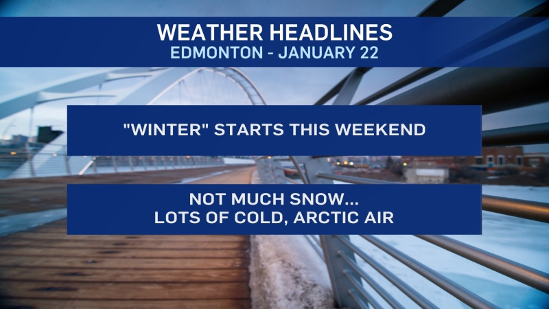 Jan. 22 weather headlines