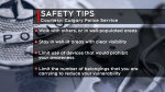 Calgary police safety tips
