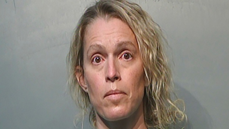 Jennifer Woodley in a Jan. 21, 2021 photo. (Polk County Jail via AP)