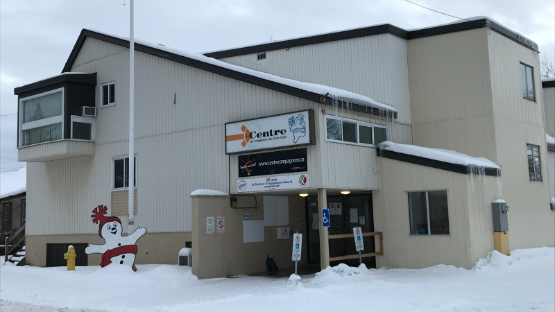 Les Compagnons building on Dudley Avenue in North Bay has been sold. Jan. 21/21 (Alana Pickrell/CTV Northern Ontario)