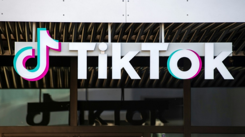 "TikTok said it was aiding authorities in the probe over possible ""incitement to suicide."" (AFP)"