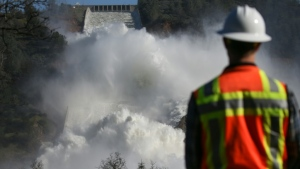 Most of the world's nearly 59,000 big dams -- constructed between 1930 and 1970 -- were designed to last 50 to 100 years. (AFP)