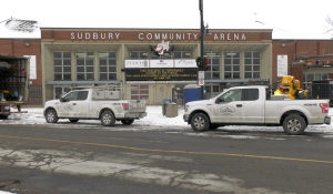 A new report from city staff in Greater Sudbury will consider renovating Sudbury Arena, or building a new facility downtown. (Ian Campbell/CTV News)