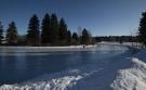 The city has opened Hawrelak Park Lake for skating for the 2021 winter season. (City of Edmonton)