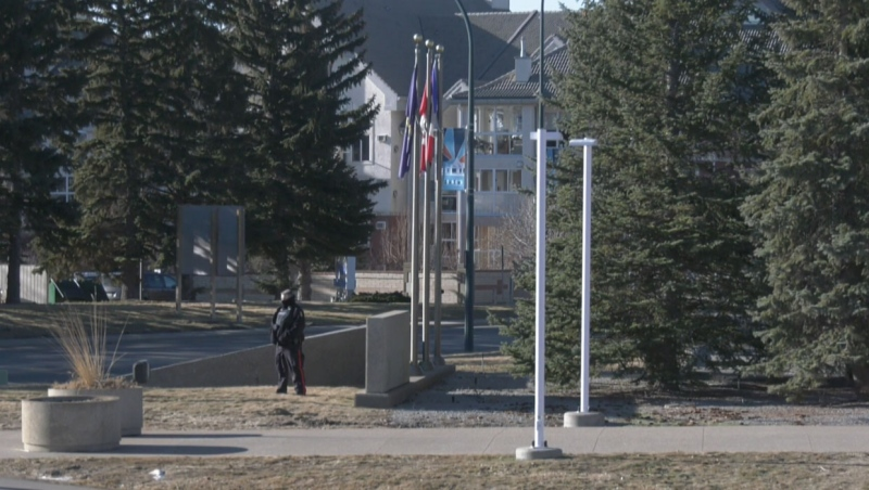 Lethbridge police say a local man is facing charges in connection with a suspicious package and arson at the LPS headquarters this week.