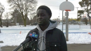 An interview subject for a CTV Kitchener story (Jessica Smith / CTV News Kitchener)