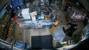 Caught on cam: Assault in 7-Eleven